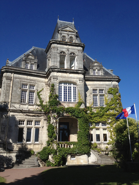 Chateau Bisquit in Cognac