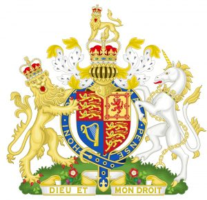 royal coat of arms (used by Courvoisier)