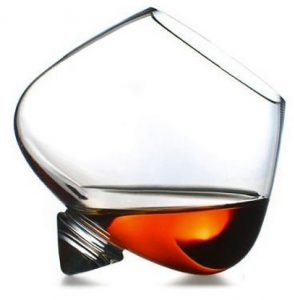 Normann snifter, 11cm high and 25cl content