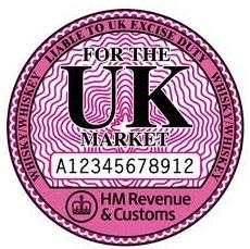 Excise duty symbol UK