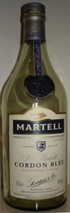 Martell Cordon Bleu, blend (predominantly borderies)