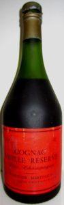 Martinaud Vieille Réserve, fine champagne