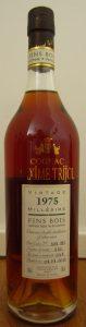 Trijol vintage 1975, fins bois