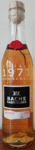 Bache Gabrielsen 1971 vintage borderies, bottled in 2016 (35cl)