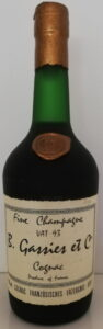 Gassies, Vat 93 fine champagne (supposed to be 1893)