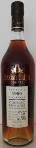 Trijol vintage 1980 bottled 2019, fins bois