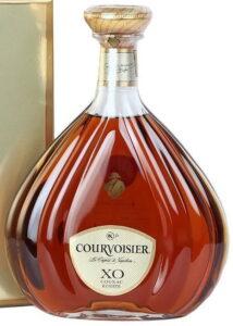Courvoisier XO with an OK-p symbol