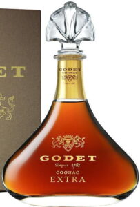 Godet Extra: kosher for Passover, but no hechsher seen.