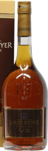 VS with OU-p in upper right corner (70cl, European bottle)
