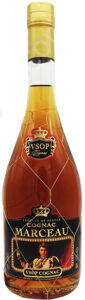 Marceau VSOP with hechsher symbols