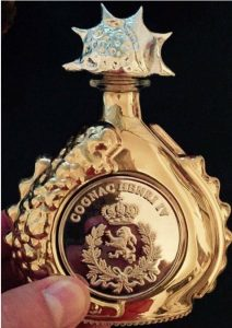 Gold; 40 years old cognac; €649,-