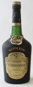 Napoleon on the shoulder (without accent), Bras d'Or in small letters. 70cl stated.