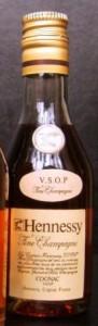 on shoulder label, first line: VSOP; second line: Fine Champagne