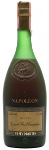 Napoleon, grande fine champagne; gradi 40% and 70 cl e stated