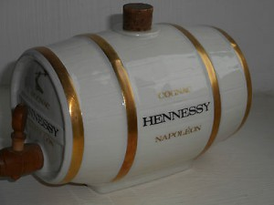 Porcelain (Bernardaud Limoges) cask, Napoleon, 70cl (1980s)