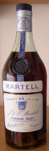 garanteed over 35 year in cask; old liqueur cognac brandy