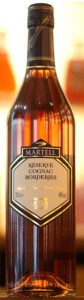The label says: Réserve cognac borderies