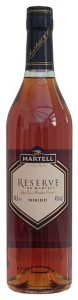 The labels says: Réserve de Martell borderies