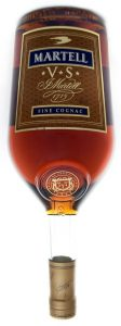1,5L different colour and 'fine cognac' in blue fully within the contours of the label