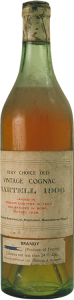 1906 Very Choice Old Vintage Cognac; landed 1907, bottled 1938; with content stated