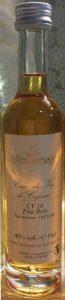 10cl eau de vie de cognac, CV 10 fins bois, old casks