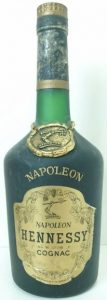 Same as previous bottle, but without the accent on Napoleon.
