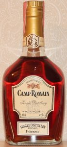 Single distillery 1998, Camp Romain; with a paper seal on top