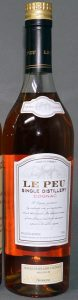 single distillery 1998, Le Peu; left bottom: 40%alc/vol 80 proof and on the right 750ml