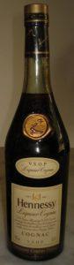 VSOP Liquor cognac on shoulder label