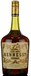 2 Pints (ca 1.136L); fine cognac on neck label; 1970s