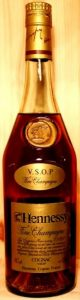 Fine champagne; two lines on the neck label: VSOP - Fine champagne; two lines below underneath cognac; 40%vol