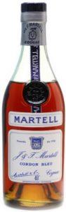 35cl Cordon Bleu (1970s), rounded labels; text below 40%: réimportation interdite