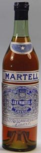 No year written on neck label; seperate label for name 'Martell' (around 1939)