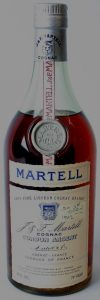 Very Fine liqueur cognac brandy; 70 proof written in bottom right corner
