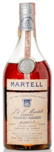 Very Fine liqueur cognac brandy; crimped cap, no riveting; 80 proof; US import by Garneau (post 1969)