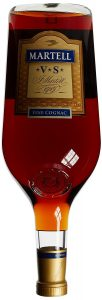 4,5L different colour and 'fine cognac' not within the contours of the label