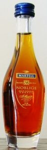 With an additional text line between 'Noblige' and 'cognac'