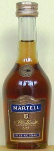 50ml; different colour of label and cap; no appellation sentence underneath 'fine cognac'