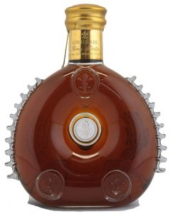 750ml on back side, import by Remy Cointreau New York
