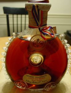 No additional info on front label, just 'Louis XIII Brand Rarest Réserve'. (1963)
