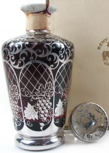 Saint Graal decanter (1960s; ca 75cl); VSOP, see backside for details (click)