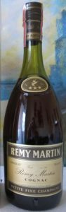 VS and three stars on neck label; Remy Martin stated on the capsule. Petite fine champagne, 70cl