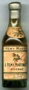 Rémy Martin above the emblem