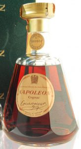 Just Napoleon Cognac stated, with a paper duty seal on top