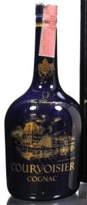 Fine champagne; with a paper seal on top; 70cl Italian import by Cedal, different back side (ca. 1980s)