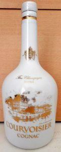White Limoges bottle, Fine champagne Extra