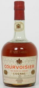 The label says: The brandy of Napoleon'; (1960s)