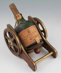 Old Liquor Cognac, Messrs Sacone & Speed, Malta stated