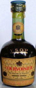 Liqueur cognac on main label