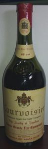 700ml Grande Fine Champagne, 60 years old. (mid 1950s); with import data underneath